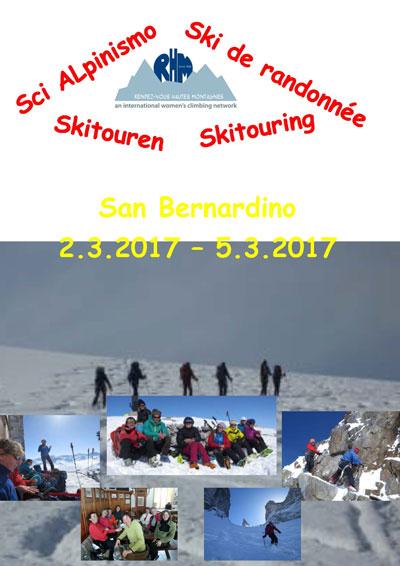 Programm Skitouren